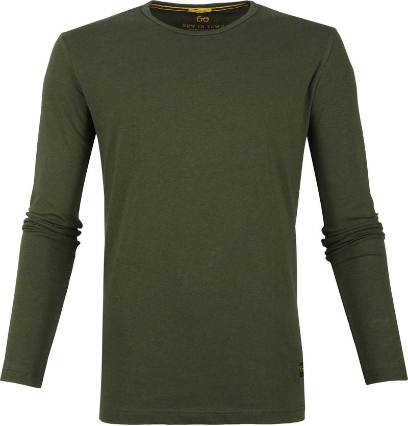 New In Town Longsleeve T-Shirt Green photo 0