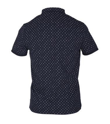 Detail New In Town Polo Navy Tekst