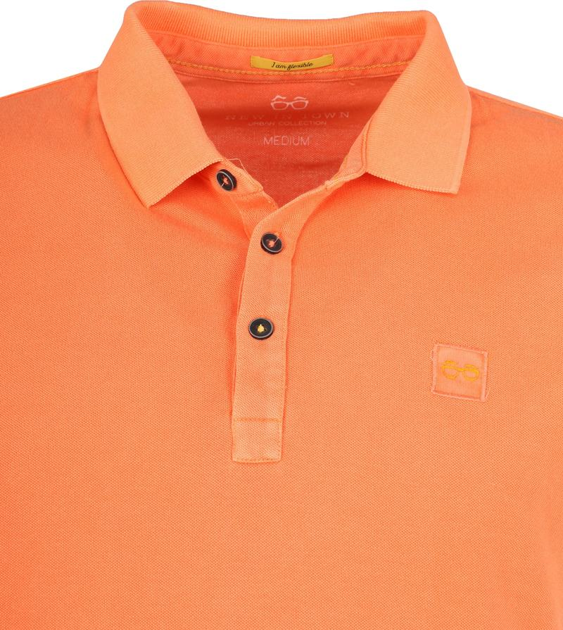 New In Town Polo Oranje foto 1