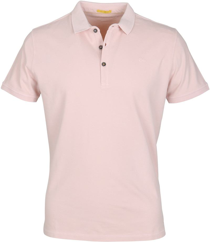 Detail New In Town Polo Uni Roze