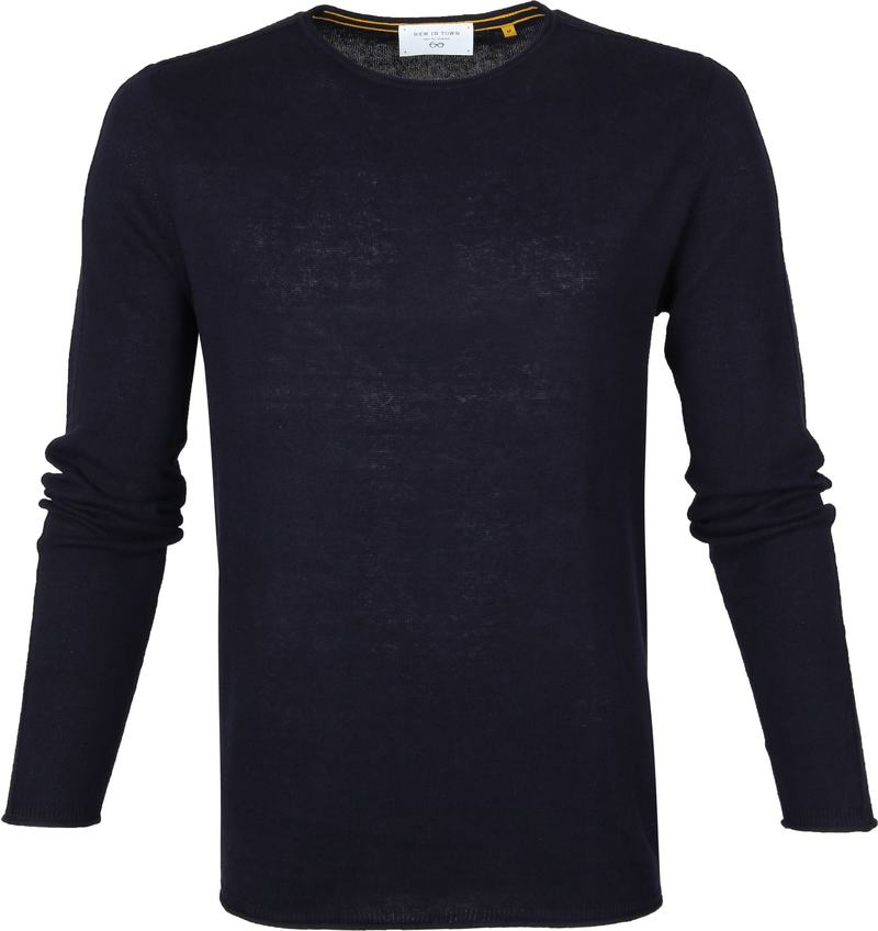 New In Town Pullover Dark Blue photo 0