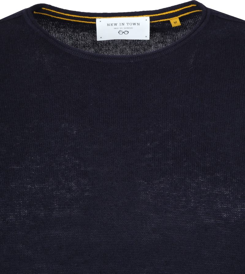 New In Town Pullover Dark Blue photo 1