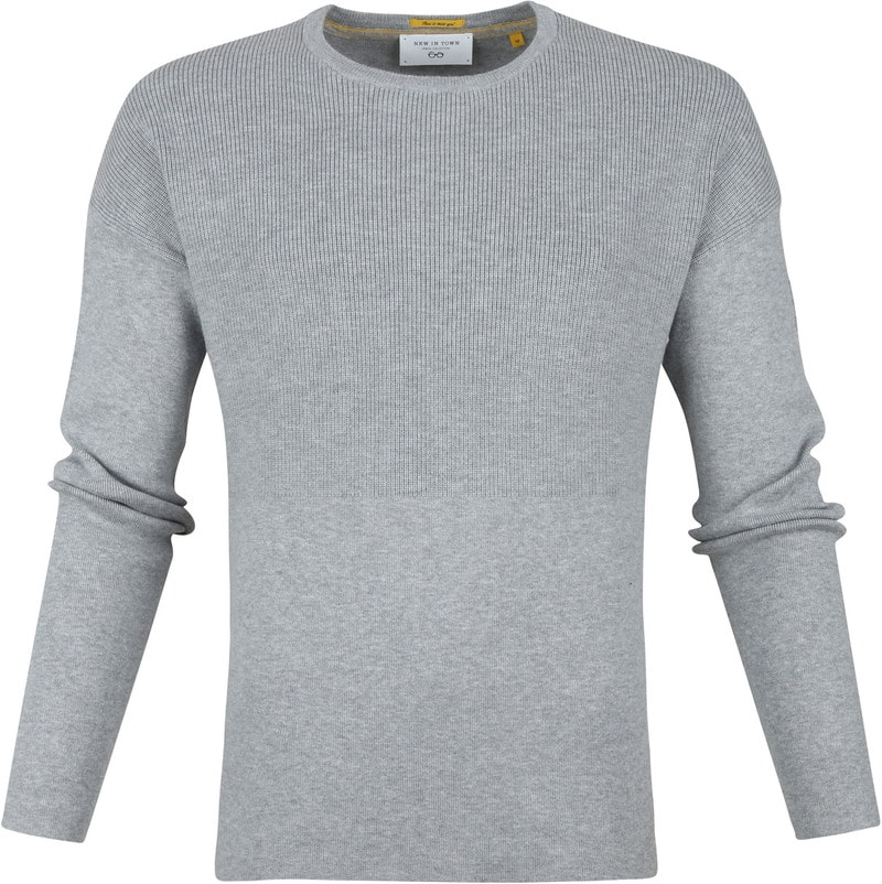 New In Town Pullover Light Grey photo 0