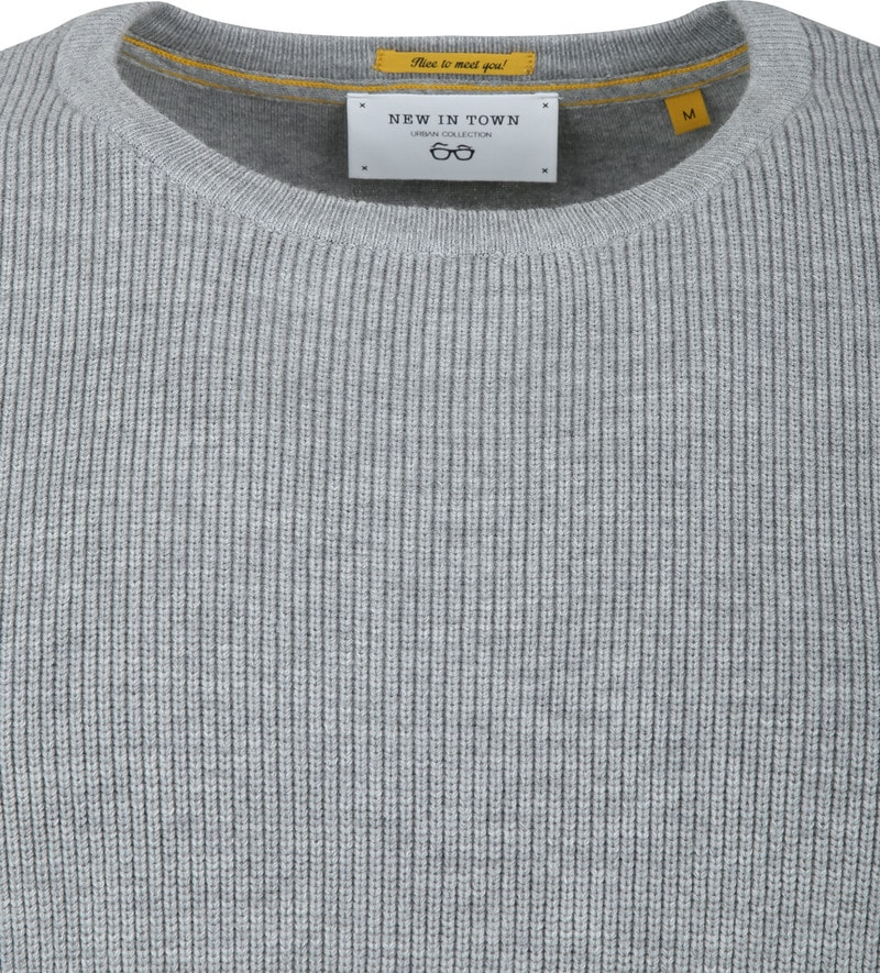 New In Town Pullover Light Grey photo 1