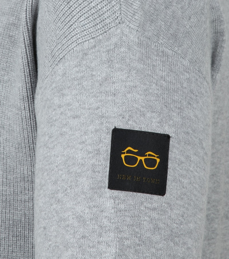 New In Town Pullover Light Grey photo 2