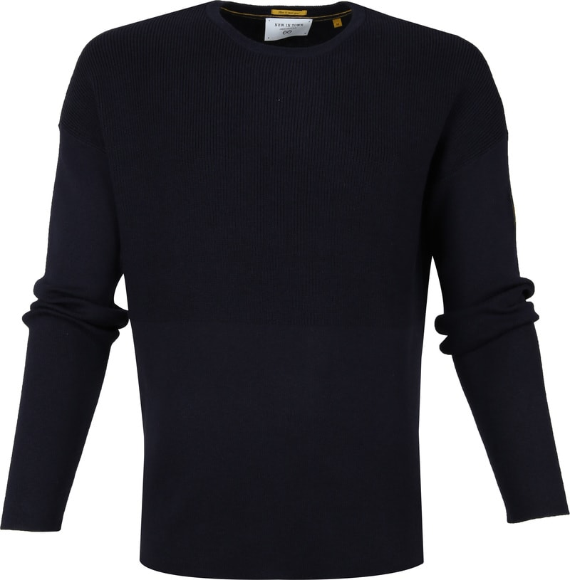 New In Town Pullover Navy foto 0