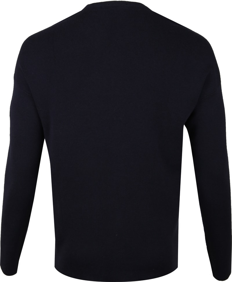 New In Town Pullover Navy foto 4