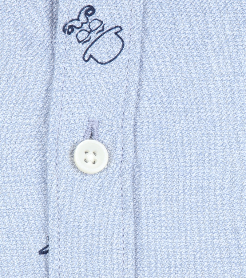 New In Town Shirt Dessin Blue photo 2