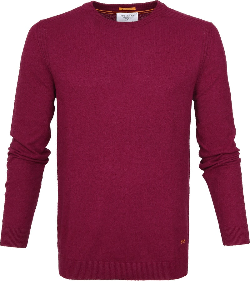 New In Town Sweater Berry Red photo 0