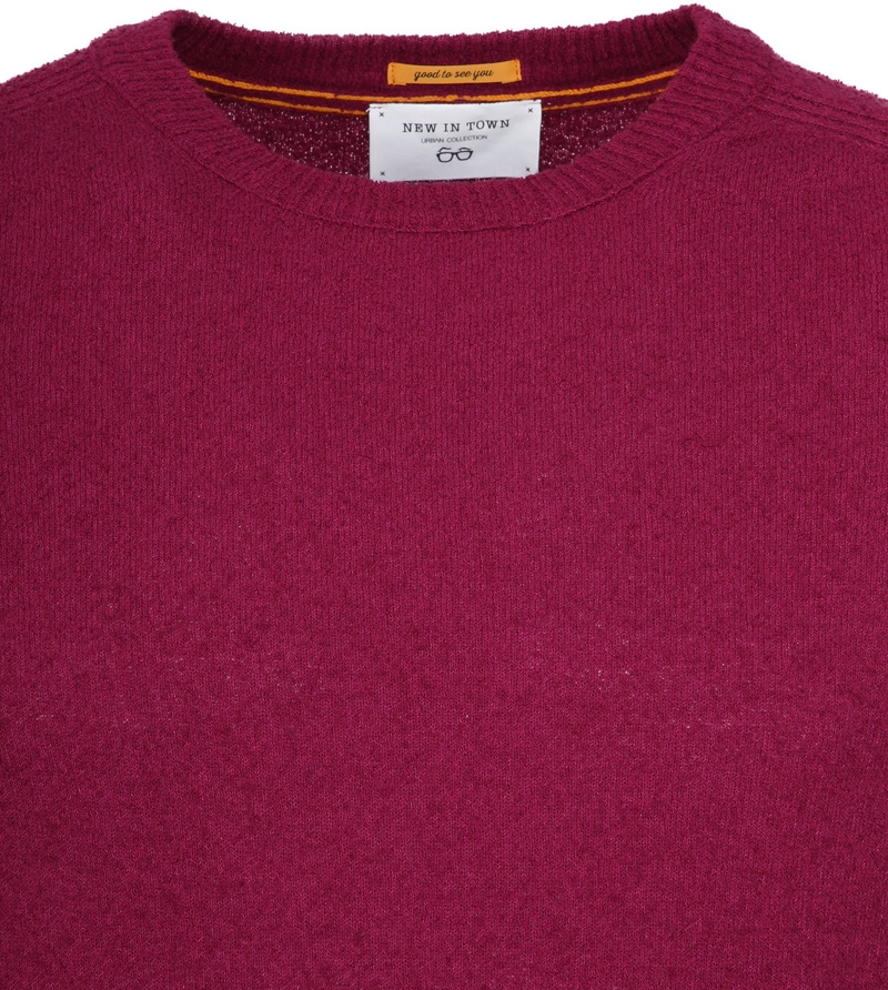 New In Town Sweater Berry Red photo 1