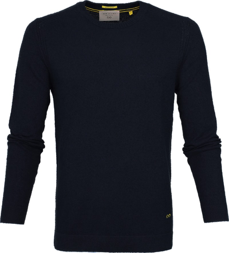 New In Town Sweater Navy photo 0
