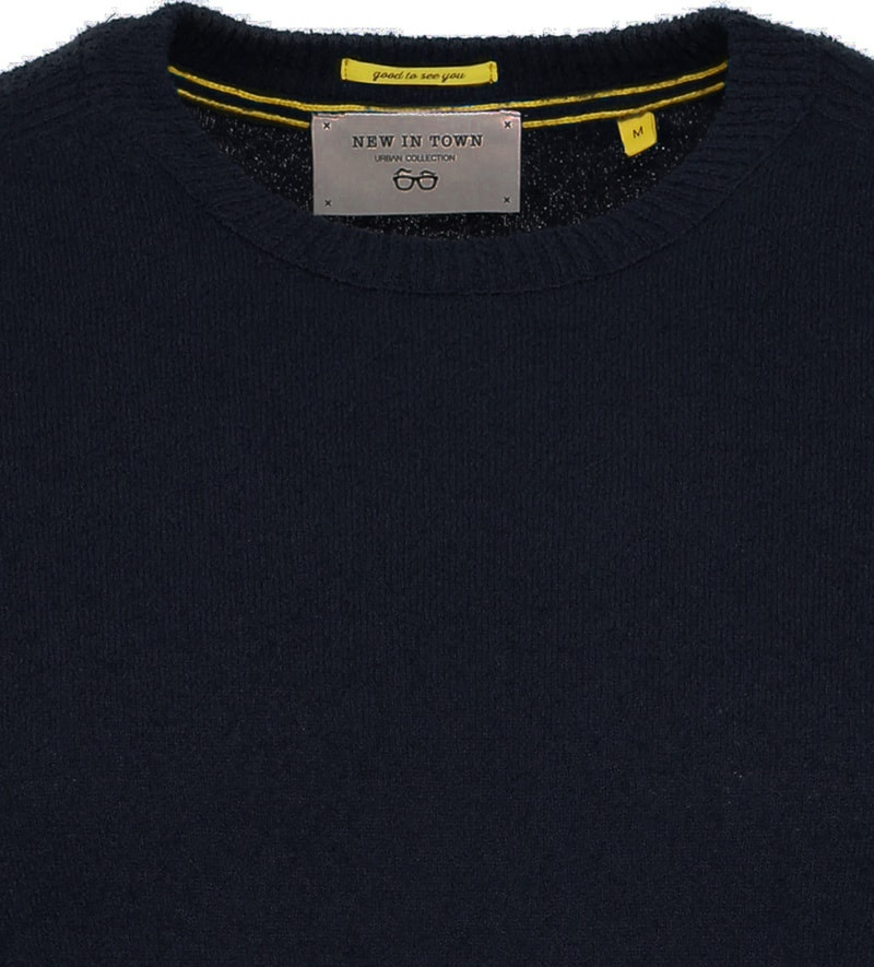 New In Town Sweater Navy photo 1