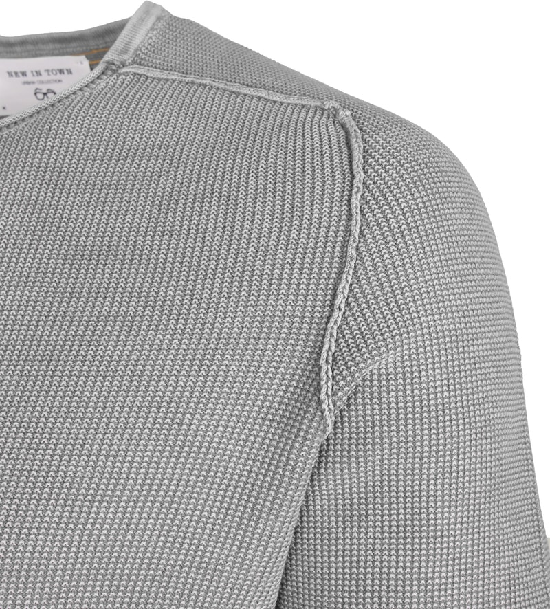 New In Town Sweater Strick Grey photo 1