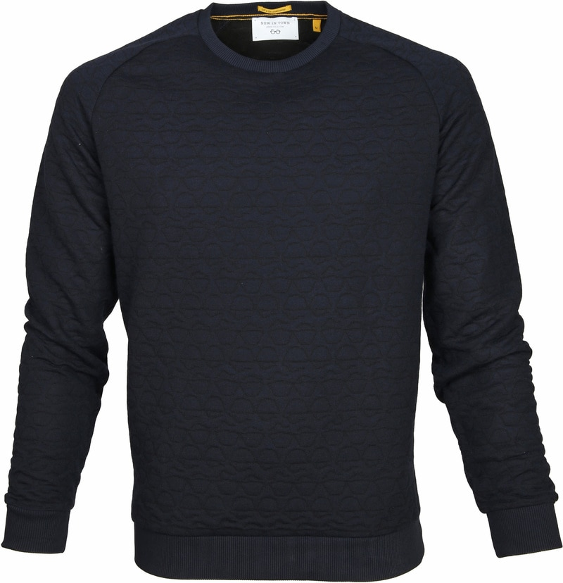 New In Town Sweater Troyer Navy photo 0