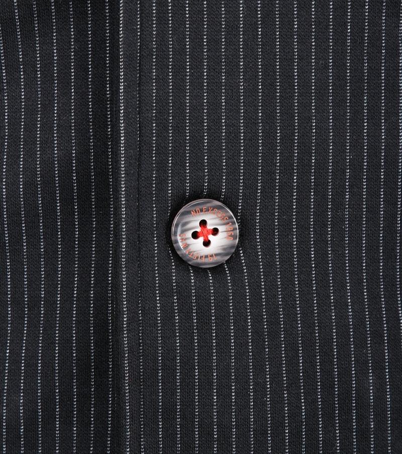 No-Excess Gilet Jersey Stripe Zwart foto 1