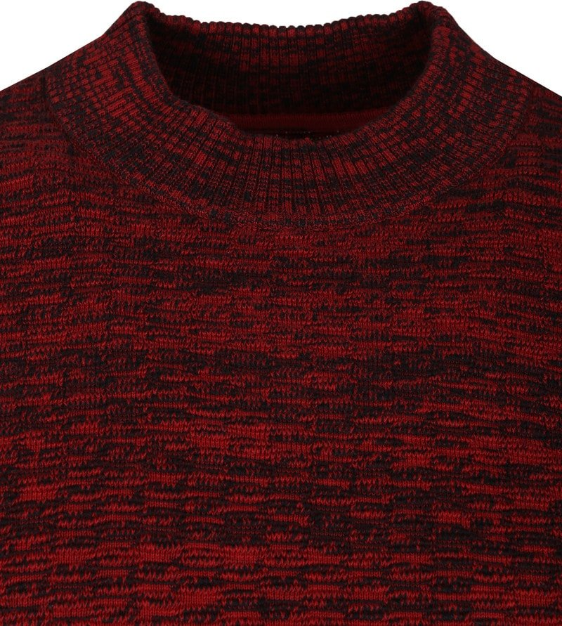 No-Excess High Neck Bordeaux photo 1