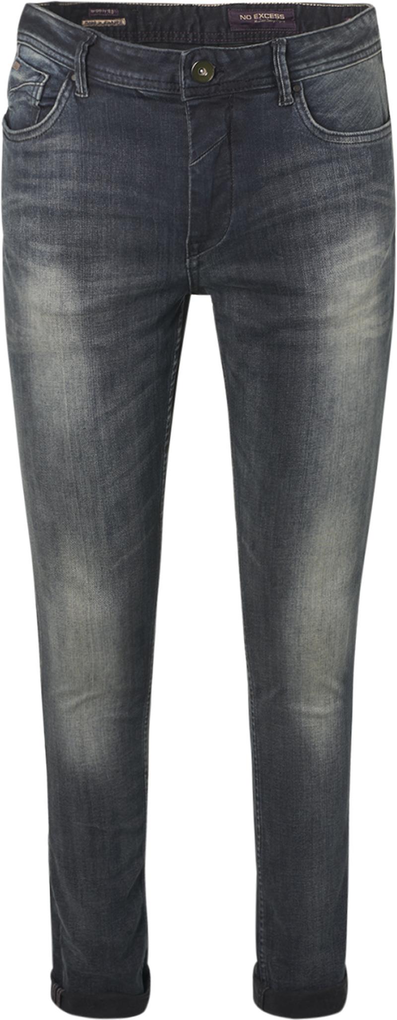 No-Excess Jeans 711 Grey Denim