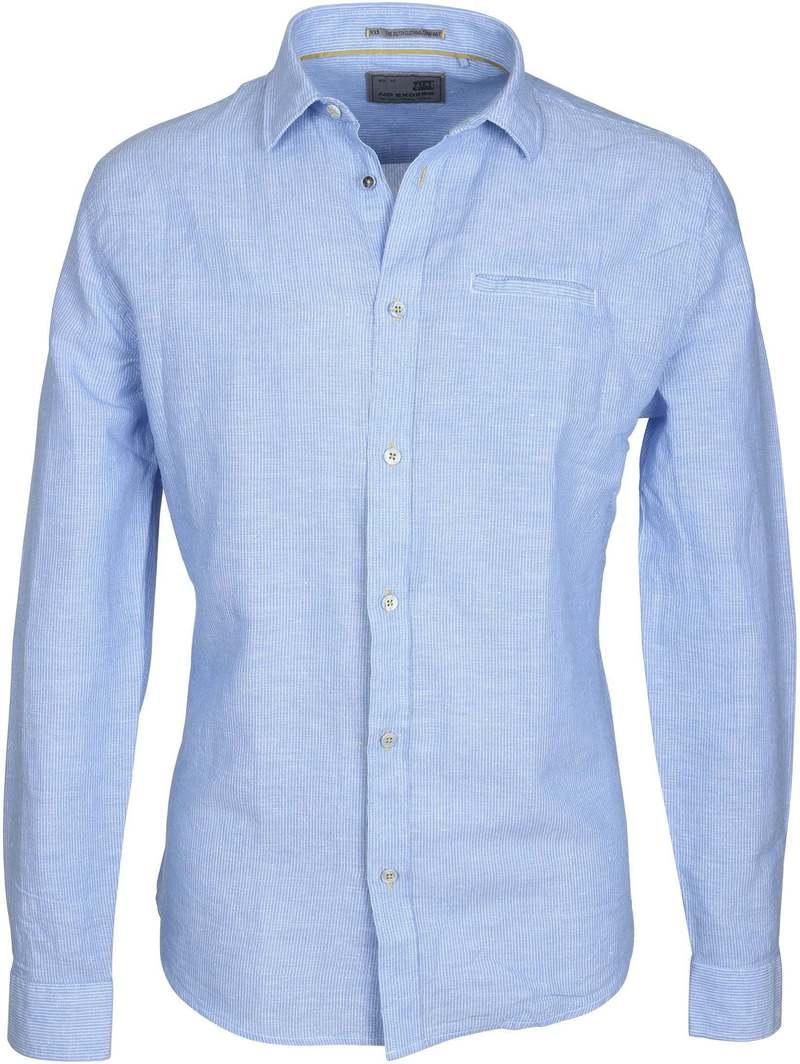No-Excess Overhemd Blauw Streep  online bestellen | Suitable