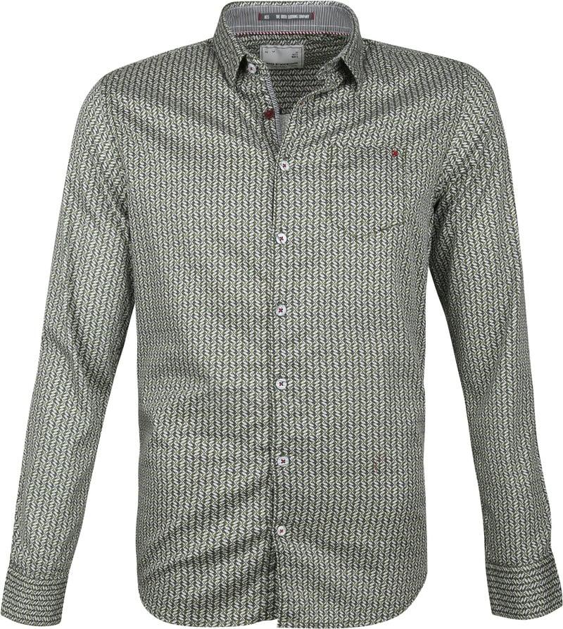 No-Excess Overhemd Dessin Groen foto 0