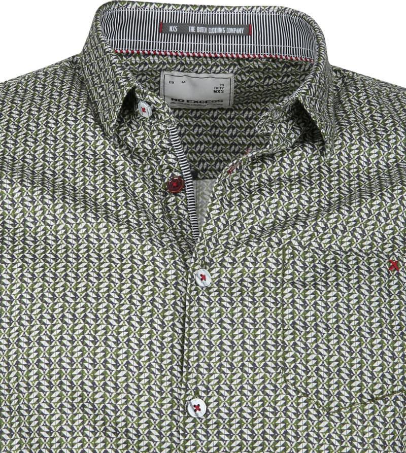 No-Excess Overhemd Dessin Groen foto 1