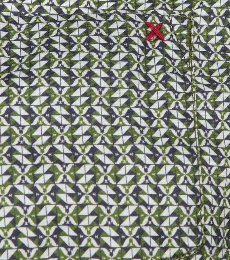 No-Excess Overhemd Dessin Groen foto 2