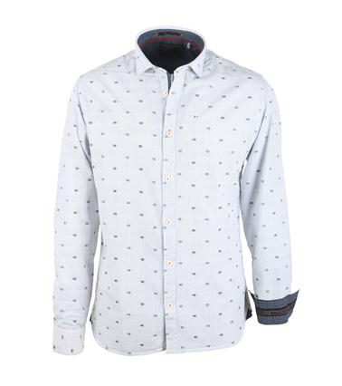 No-Excess Overhemd Streep Blauw  online bestellen | Suitable