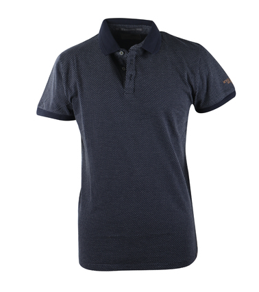 No-Excess Polo Donkerblauw Pinpoint  online bestellen | Suitable