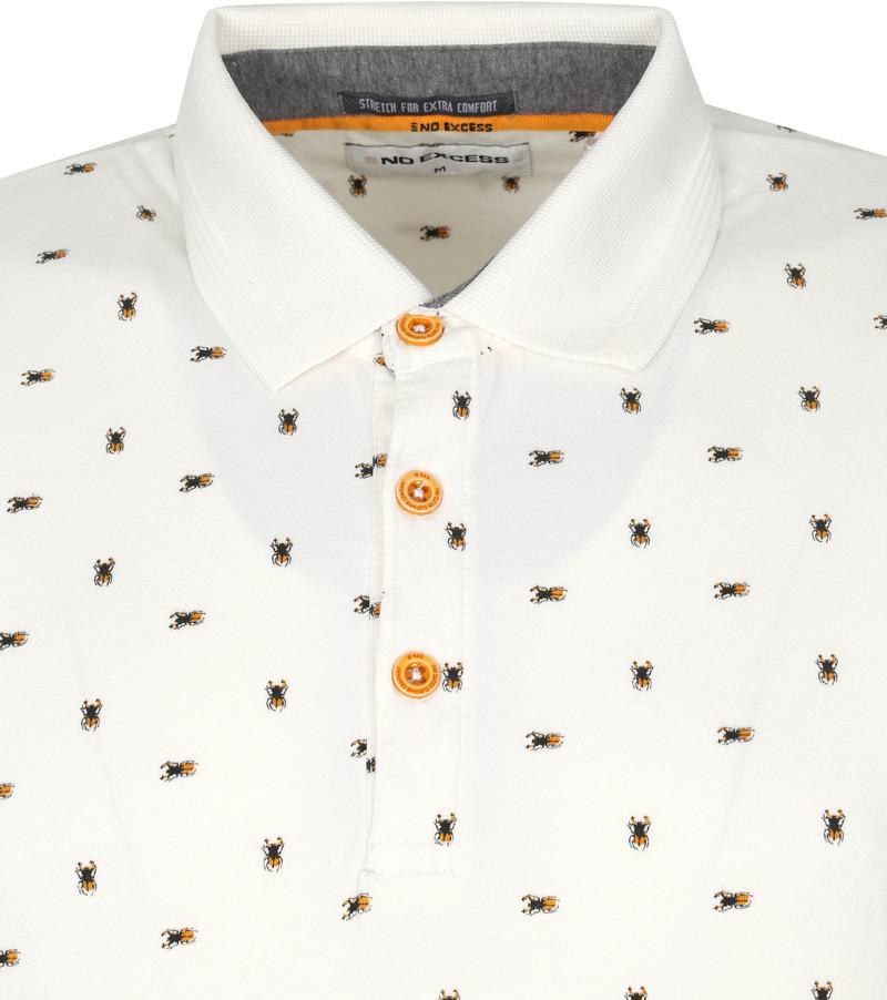 No-Excess Polo Insecten Offwhite