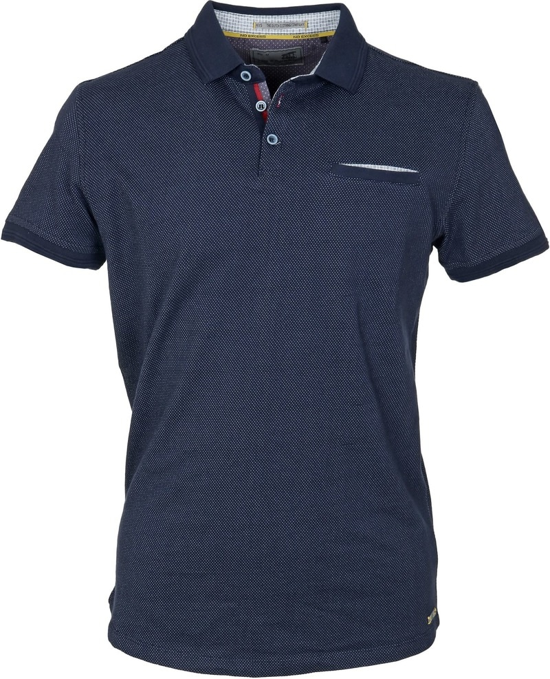 No-Excess Polo Pinpoint Dunkelblau  online kaufen | Suitable