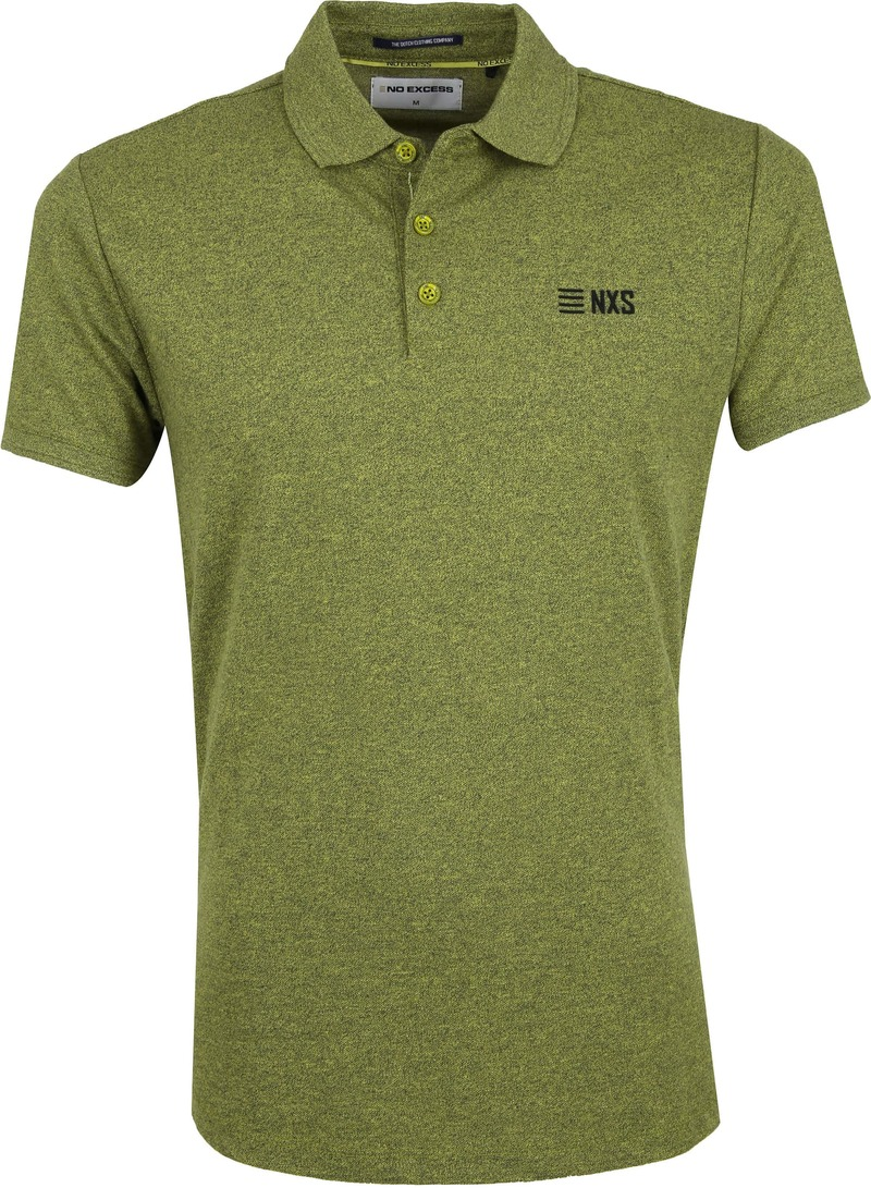 No-Excess Poloshirt Lime Green photo 0