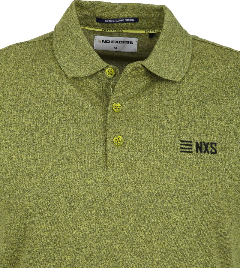 No-Excess Poloshirt Lime Green photo 1