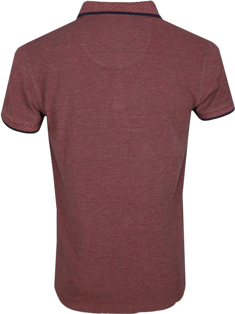 No Excess Poloshirt Melange Roze foto 3