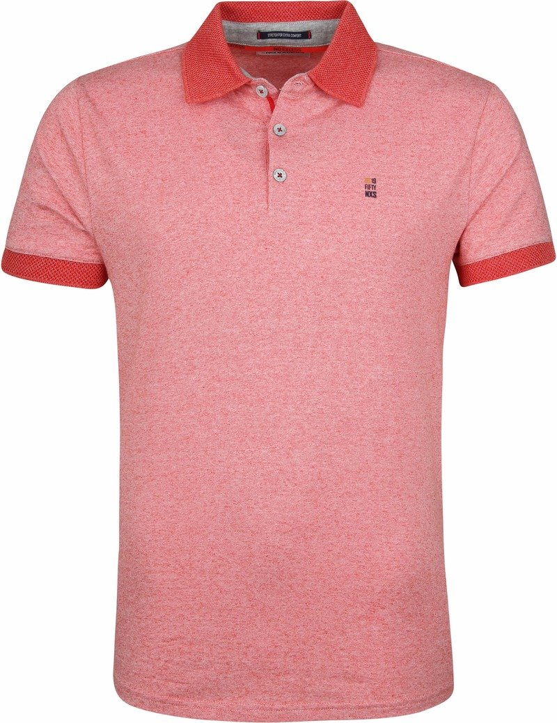 No-Excess Poloshirt Rood foto 0