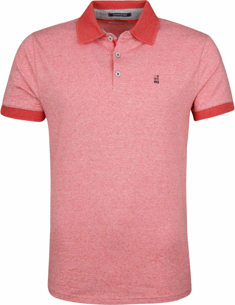 No-Excess Poloshirt Rot Foto 0