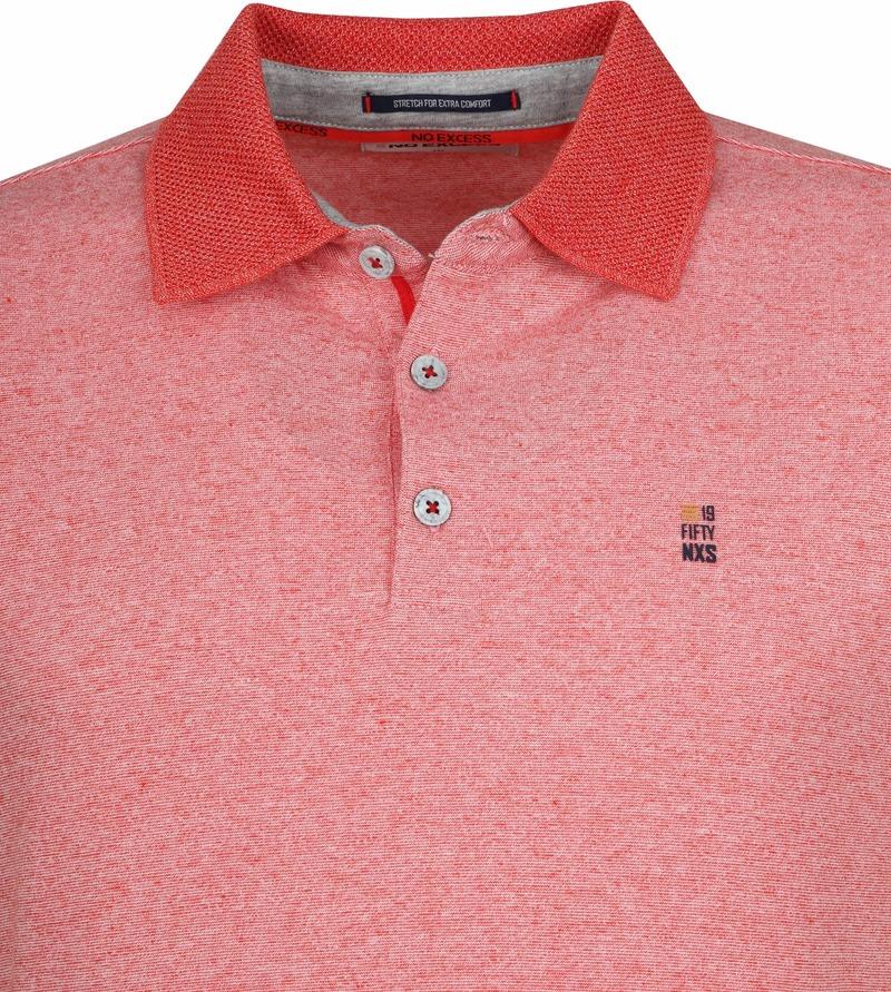 No-Excess Poloshirt Rot Foto 1