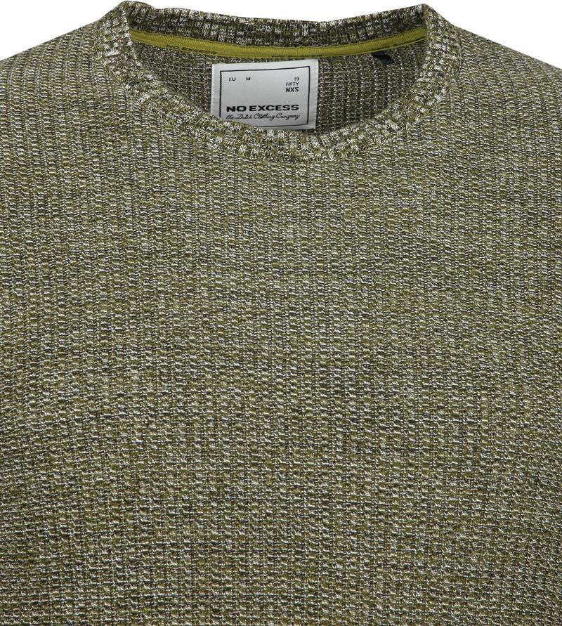 No-Excess Pullover Blend Dark Green photo 1