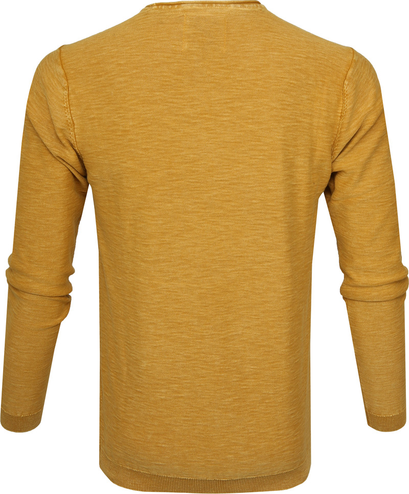 No-Excess Pullover Ocre Geel foto 3