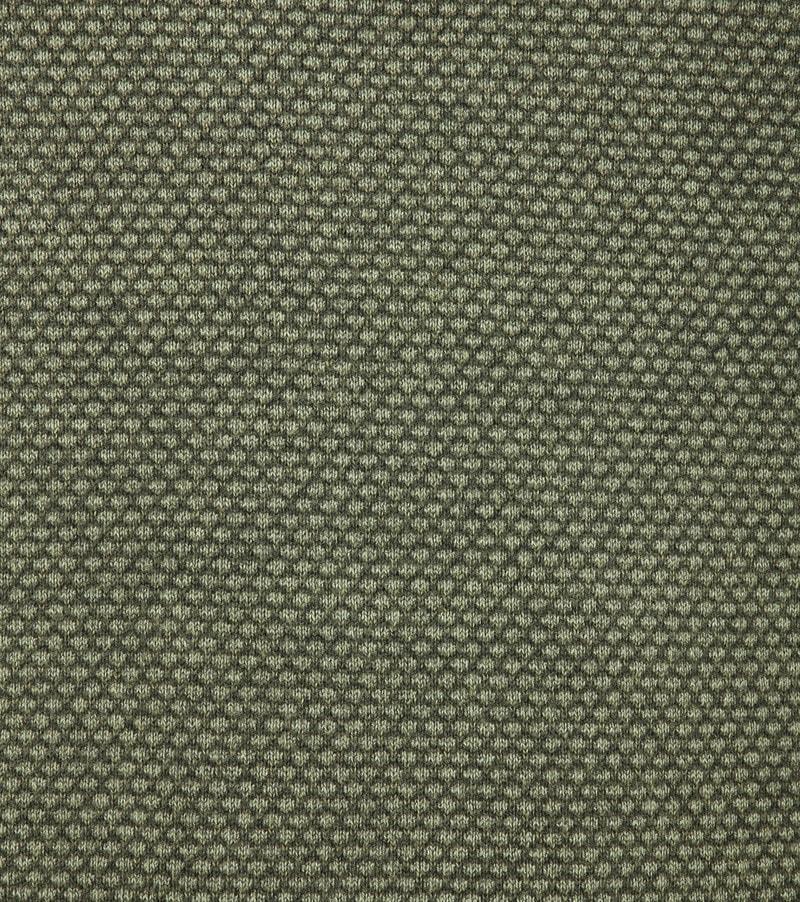 No-Excess Pullover Pique Dunkelgrün Foto 2