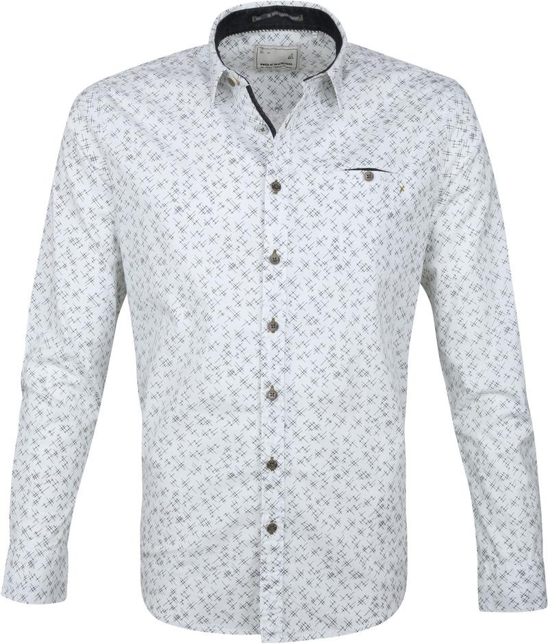 No-Excess Shirt Print Design White photo 0