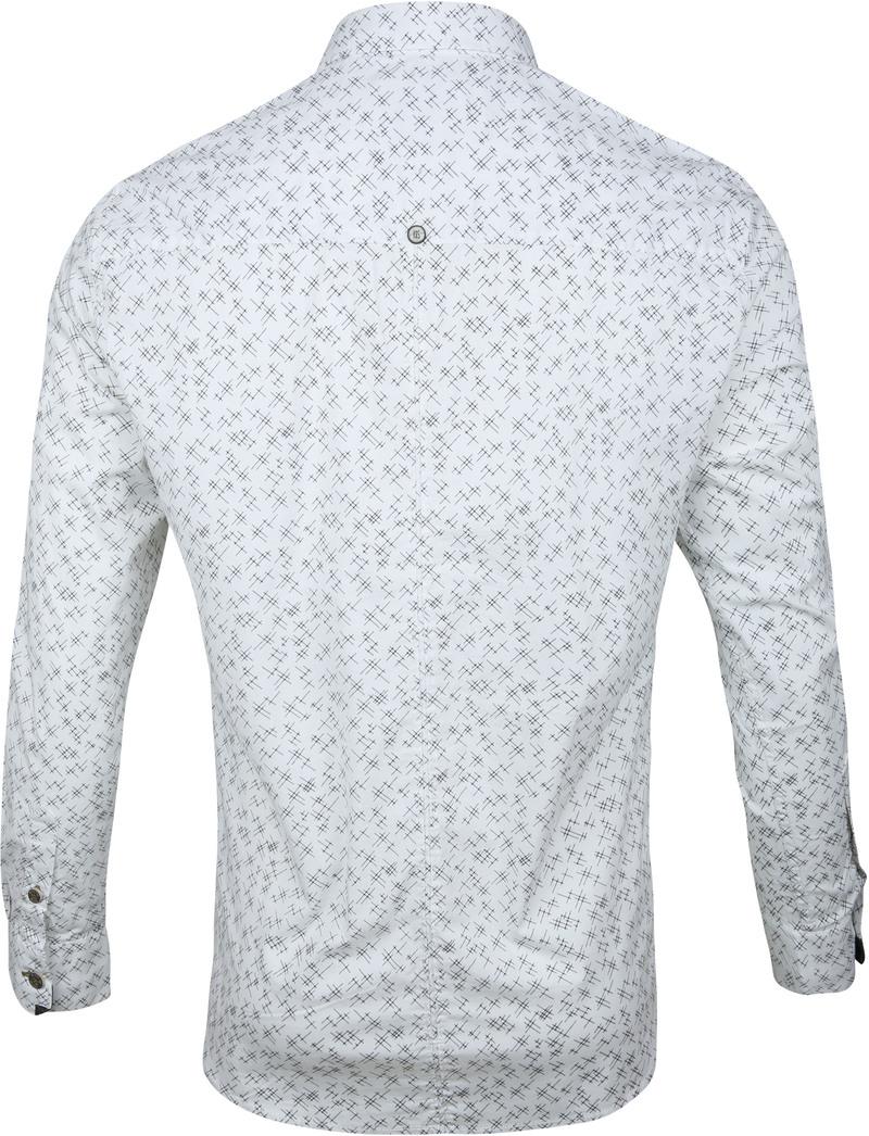 No-Excess Shirt Print Design White photo 3