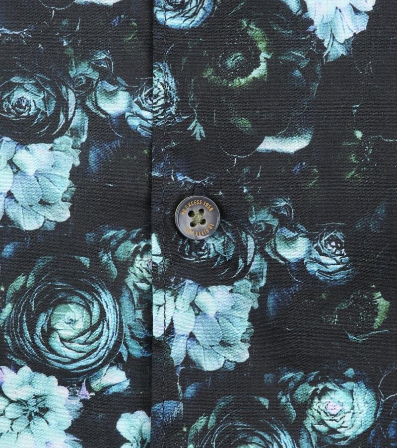 No-Excess Shirt Print Flowers photo 2