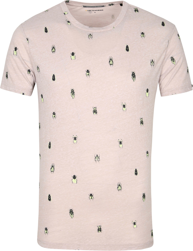 No-Excess T-Shirt Insecten Khaki - Khaki maat XL
