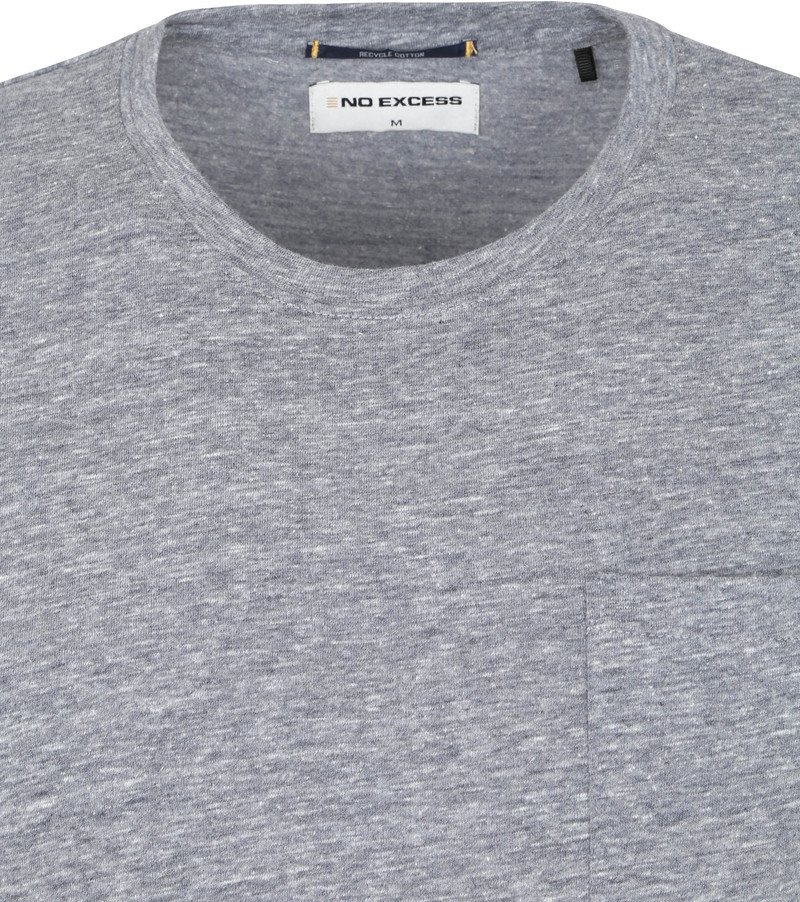 No-Excess T-Shirt Recycle Antraciet