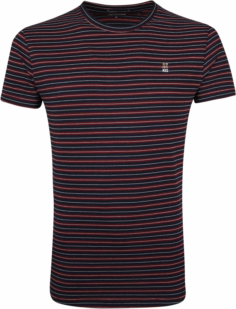 No-Excess T-Shirt Strepen foto 0
