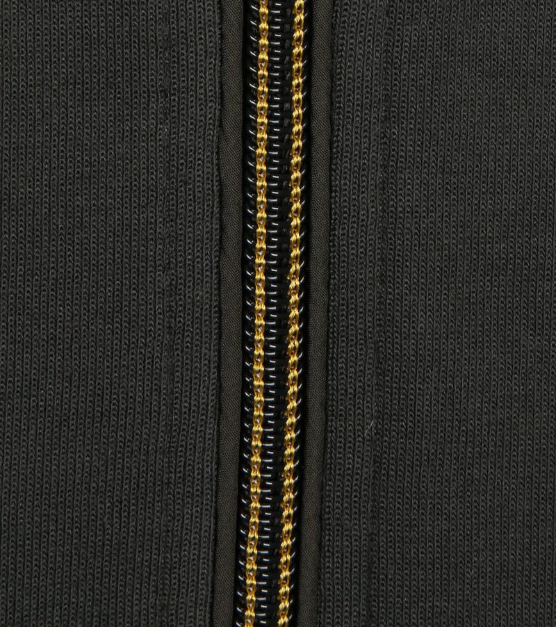No-Excess Zip Vest Donkergroen 052 - Donkergroen maat XXL