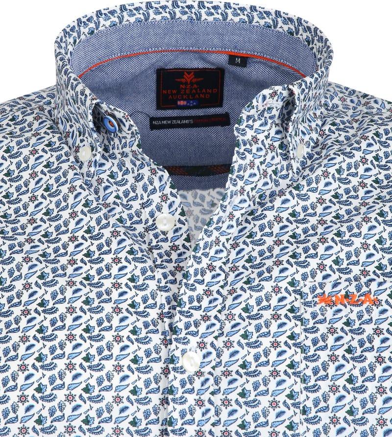 NZA Freizeithemd Hamilton Blau Foto 1
