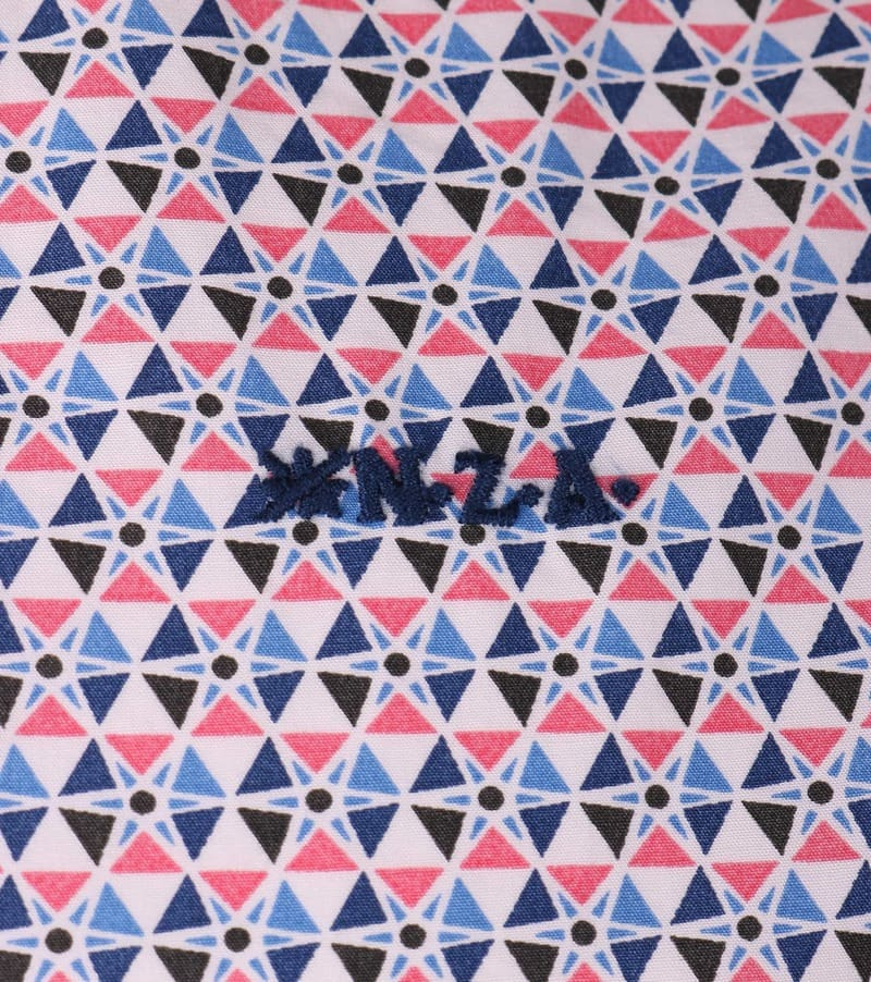 NZA Hemd Rosa Print 16AN542