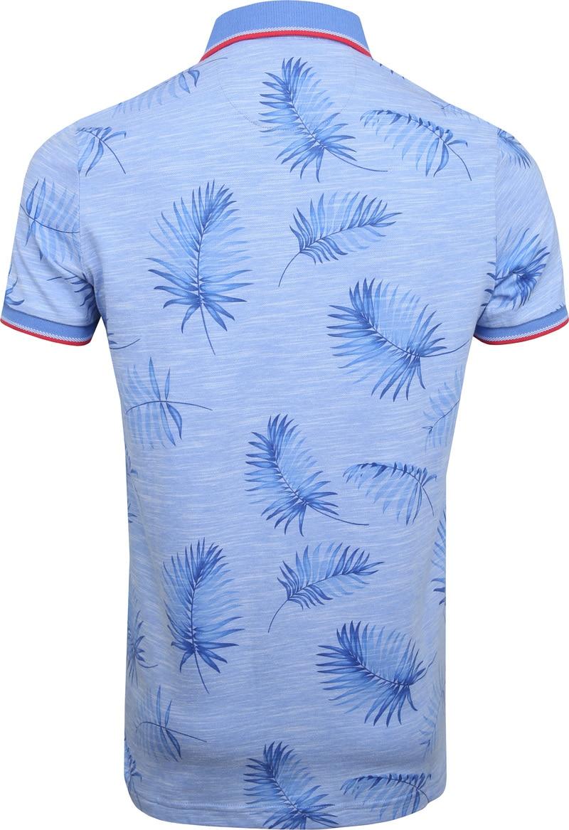 NZA Kaihu Poloshirt Print Blue photo 4