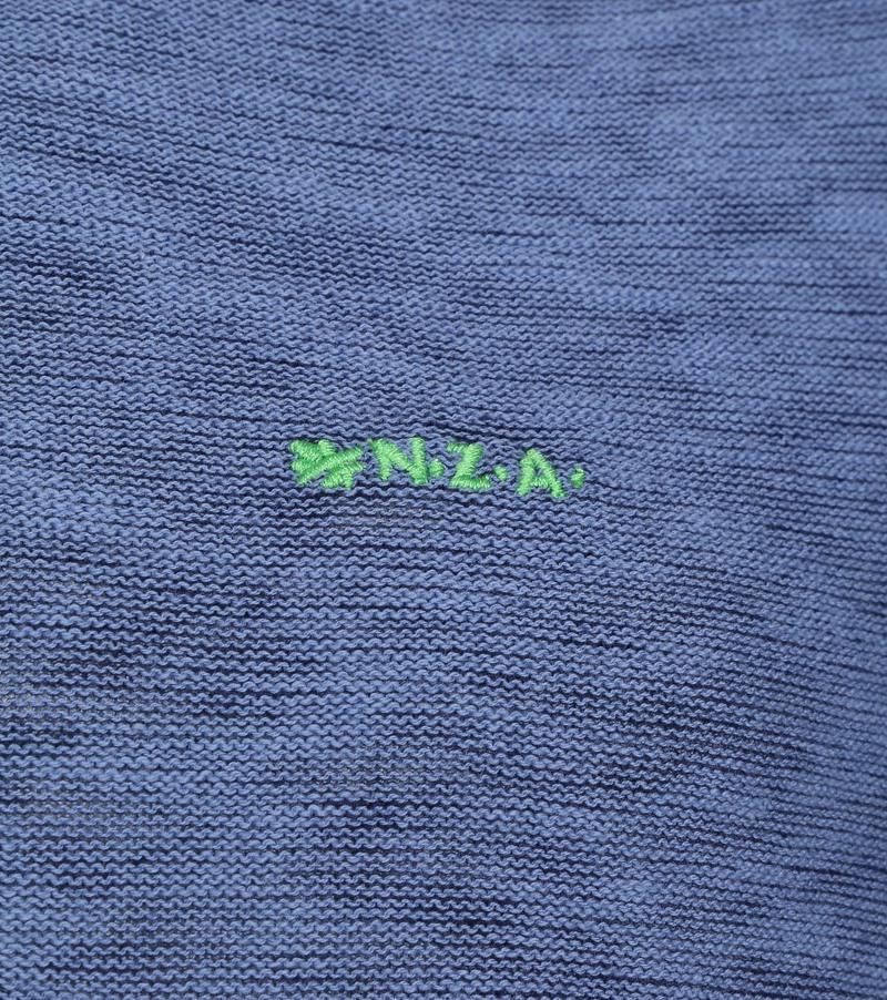 NZA Methven Half Zip Vest Blauw