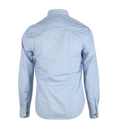 Detail NZA Overhemd Blauw 16MN506